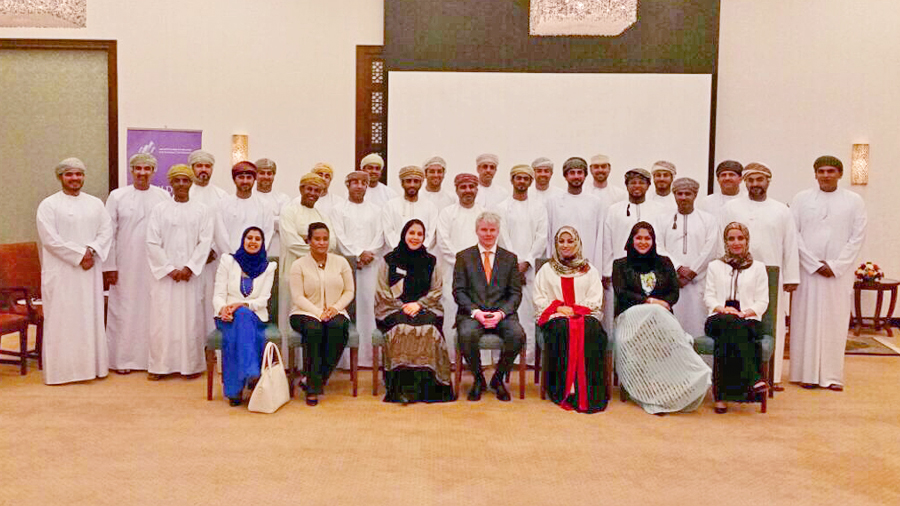 Minister of Diwan H.E Sayyid Khalid bin Hilal Al Busaidi declared the launch of the first cohort for the National CEO Program